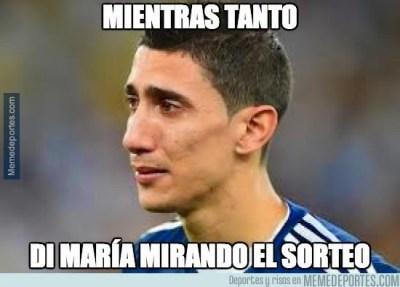 Los mejores memes: sorteo Champions League 2014/15  di maria