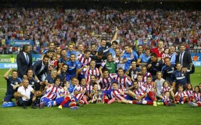 Las mejores imágenes del Atlético Madrid Campeón Supercopa