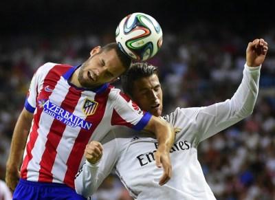 Real Madrid 1-Atlético 1. Supercopa 2014, ida