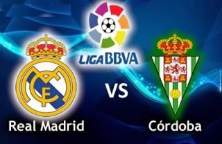 Alineación y la previa Real Madrid-Córdoba. Jornada 1