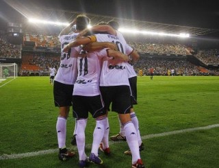 Valencia 3-Málaga 0. Jornada 2 Liga Española