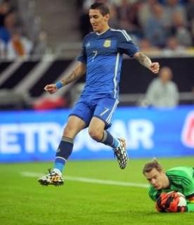 Alemania 2-Argentina 4. Amistoso internacional