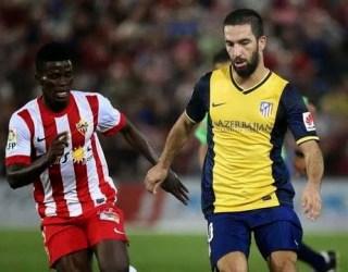 Almería 0-Atlético Madrid 1. Jornada 5 Liga Española