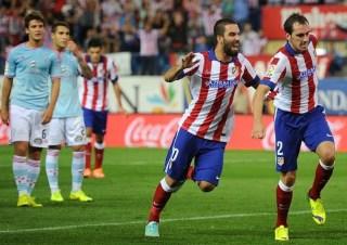 Atlético Madrid 2-Celta 2 Jornada 4 Liga Española