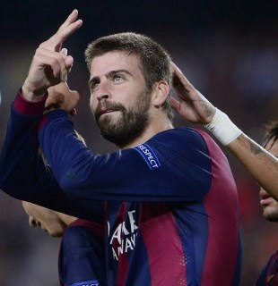 Barcelona 1-Apoel 0. Champions League 2014