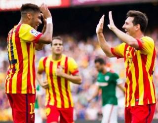 Barcelona 2-Athletic Bilbao 0. Jornada 3 Liga Española