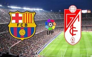 Alineación y la previa Barcelona-Granada. Jornada 6