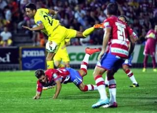 Granada 0-Villarreal 0. Jornada 3 Liga Española