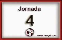 Partidos Jornada 4. Liga Española BBVA 2014