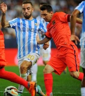 Málaga 0-Barcelona 0. Jornada 5 Liga Española