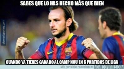 rakitic Los mejores memes de la goleada del Barça al Granada 6-0