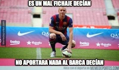 Los mejores memes del Barcelona-Granada
