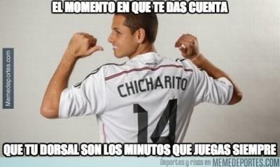 Los mejores memes de la goleada del Real Madrid al Elche chicharito
