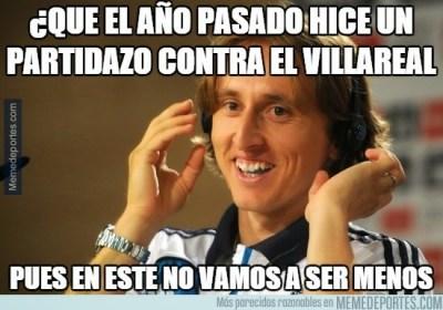 Los mejores memes del Partido Villarreal-Real Madrid