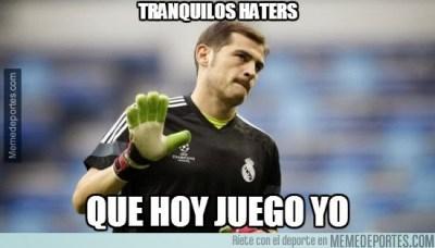 Los mejores memes del Partido Villarreal-Real Madrid casillas