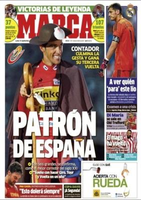 Portada Marca: crisis en el Real Madrid