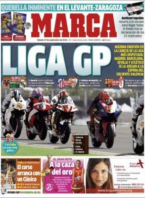 Portada Marca: Liga GP