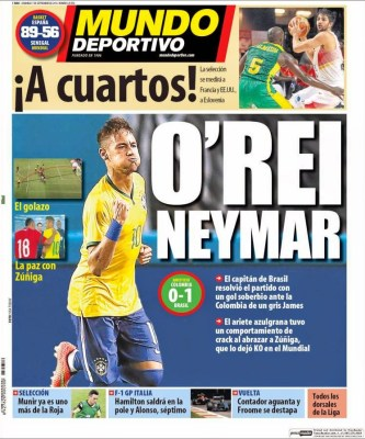 Portada Mundo Deportivo: Neymar