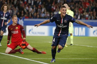 PSG 3-Barcelona 2. Champions League 2014