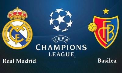 Alineacion Real Madrid-Basilea: Champions 2014