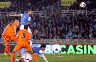 Real Sociedad 1-Valencia 1. Jornada 6 Liga Española