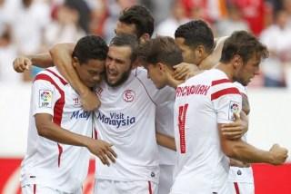 Sevilla 2-Getafe 0. Jornada 3 Liga Española