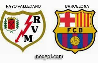 Alineación y la previa Rayo Vallecano-Barcelona. Jornada 7