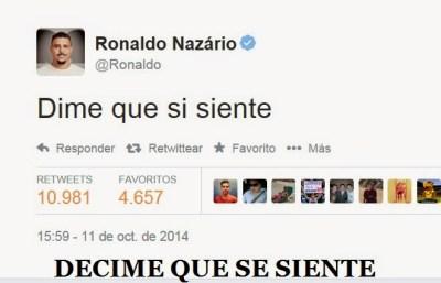 Los mejores memes de la victoria de Brasil sobre Argenitna en China ronaldo decime que se siente