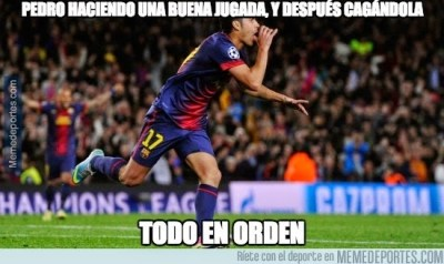 pedro Los mejores memes del Barcelona-Ajax: Champions
