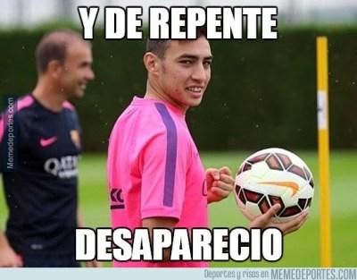 Los mejores memes del Barcelona-Éibar: Liga Española munir