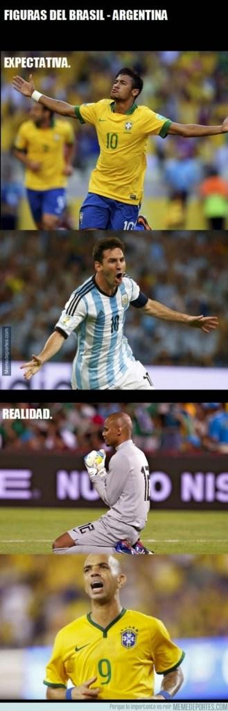 Los mejores memes de la victoria de Brasil sobre Argenitna en China