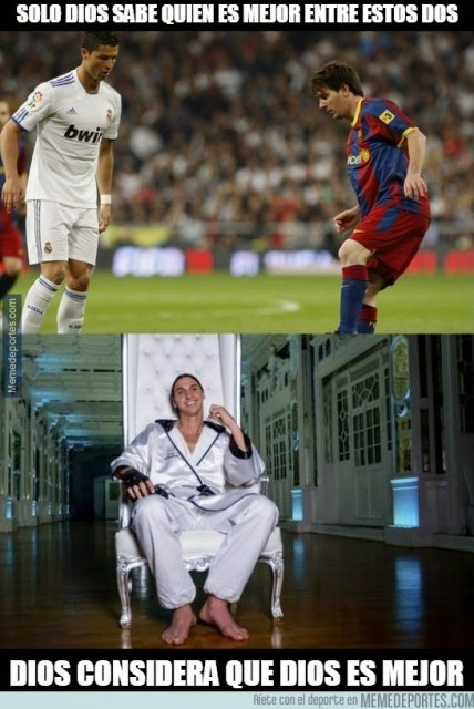 Los memes de la previa Real Madrid-Barcelona: el clásico ibrahimovic