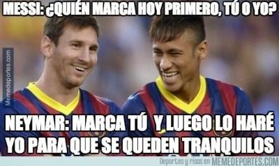 Los mejores memes del Rayo Vallecano-Barcelona messi neymar