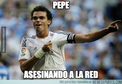 Los memes del clásico Real Madrid-Barcelona: Jornada 9 pepe