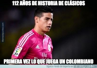 Los memes del clasico Real Madrid-Barcelona: Jornada 9 james rodriguez