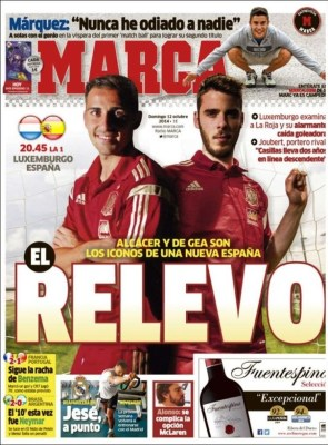 Portada Marca: Luxemburgo-España Euro 2016