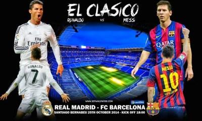 Alineación y la previa Real Madrid-Barcelona. Jornada 9