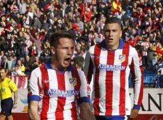 Atlético Madrid 2-Deportivo Coruña 0. Jornada 13 Liga Española