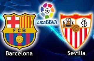 Alineación y la previa Barcelona-Sevilla. Jornada 12