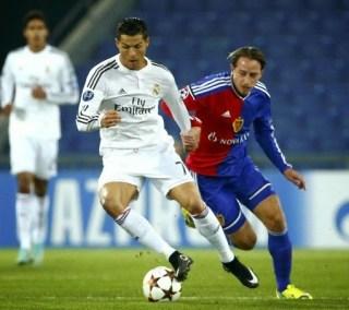 Basilea 0-Real Madrid 1. Champions League 2014