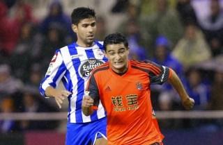 Deportivo 0-Real Sociedad 0. Jornada 12 Liga Española