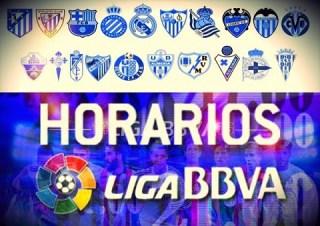 Horarios partidos sábado 8 noviembre: Jornada 11 Liga Española