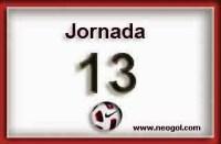 Partidos Jornada 13. Liga Española BBVA 2014
