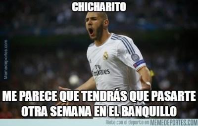Los mejores memes del Málaga-Real Madrid: Liga Española benzema chicharito
