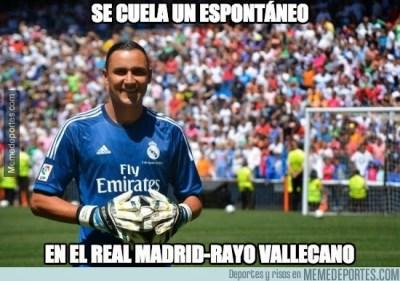 Los mejores memes del Real Madrid-Rayo Vallecano: Liga Española keylor navas