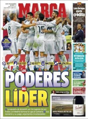 Portada Marca: el poder del Líder real madrid