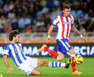 Real Sociedad 2-Atlético Madrid 1. Jornada 11 Liga Española
