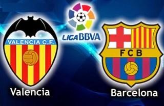 Alineación y la previa Valencia-Barcelona. Jornada 13