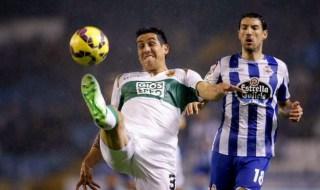 Deportivo la Coruña 1-Elche 0. Jornada 15 Liga Española