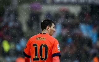 Getafe 0-Barcelona 0. Jornada 15 Liga Española Lionel Messi